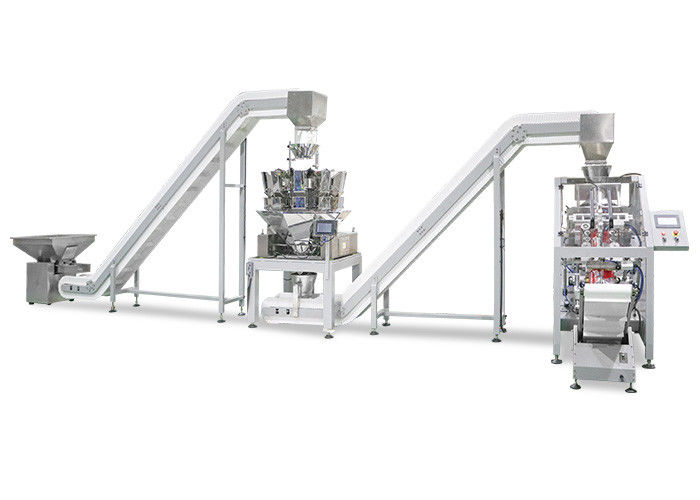 2 Head Linear Weigher 4 Head Linear Weigher Vertical Form Fill Seal Machine