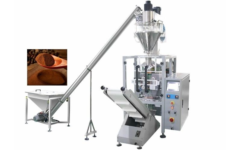 250g 500g 1kg Automatic Coffee Powder Filling Packing Machine with Servo Motor
