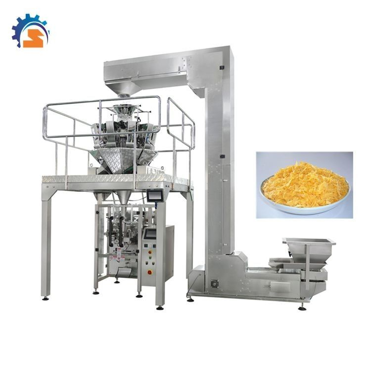 Automatic Rice Chin Peanut Packing Machine With Multi Head Weigher